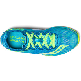 saucony Type A8 - Zapatillas running Mujer - amarillo/azul